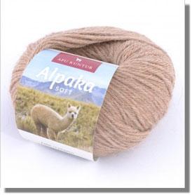 50g Alpakawolle Soft in Hellbeige