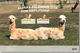 IN KÜRZE - Alpaka Wand Kalender 2018 in DINA3 Querformat
