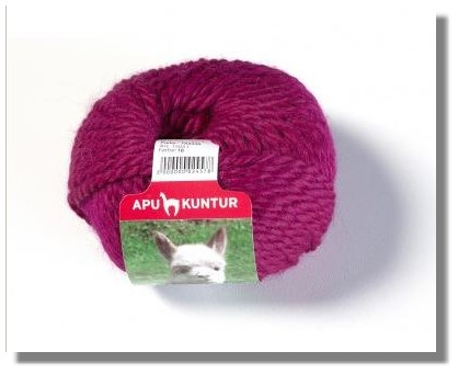 50g Baby Alpakawolle Nadelstärke 8 Fuchsie