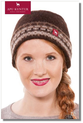 ALMA Alpaka Mütze für Damen
