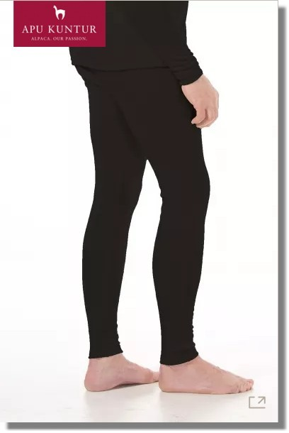 Royal-Alpaka THERMO-HOSE HERREN Legging lange Funktions-Unterhose APU KUNTURTHERMO-UNTERHOSE Leggings 95% Royal Alpaka Herren Funktionswäsche