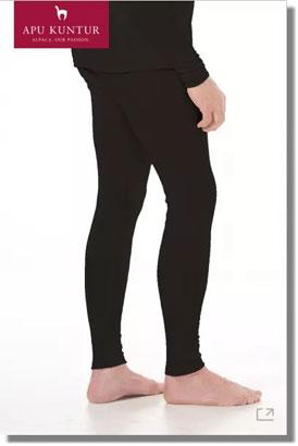 Royal-Alpaka THERMO-HOSE HERREN Legging lange Funktions-Unterhose APU KUNTUR