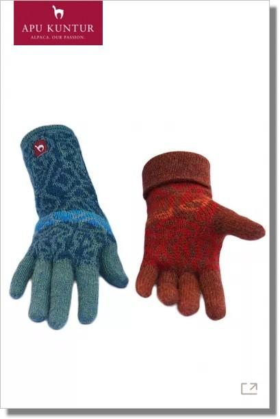 CHIMU Fingerhandschuhe aus Alpakawolle