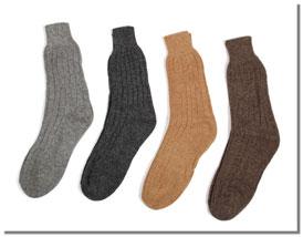 Alpaka Socken Mittel