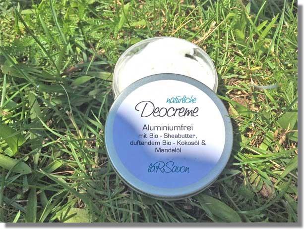 Natürliche Deocreme ohne Duft