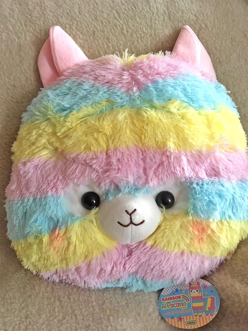 Alpaka Kissen Rainbow AlPasso