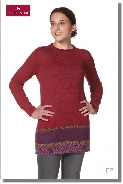 Damen Tunika CHINCHEROS - natürlich gefärbt NEU ohne Taschen