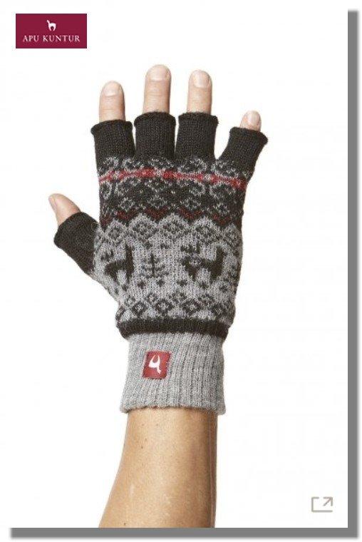 Fingerlose Handschuhe ANDEN VIENTOS gefüttert Damen Herren