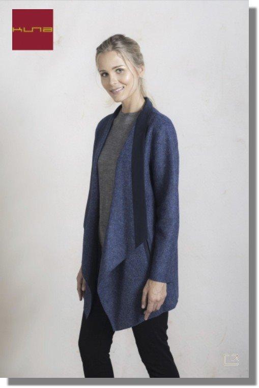 Kurz-Mantel RUNAWAY COAT Alpaka Wolle gewalkt Damen