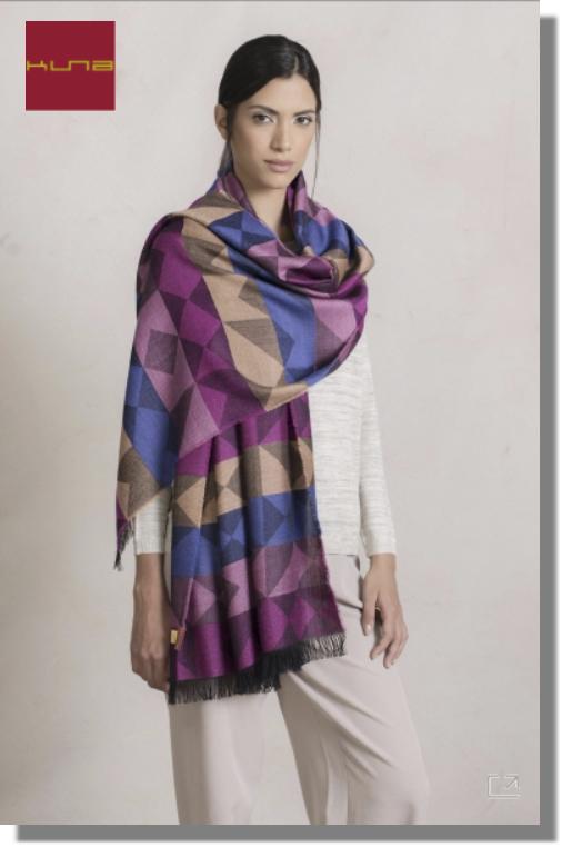 Damen Webschal PARROCO 200 x 70 cm multicolor-XXC0003 | one-size