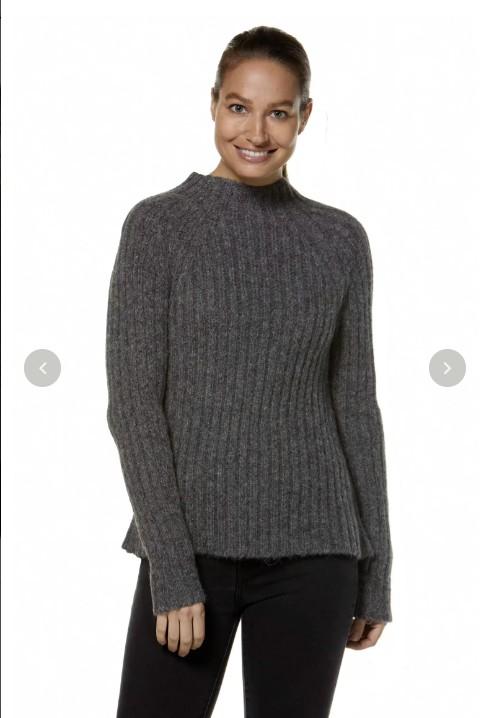Pullover DOLCE dicker Strick Alpaka Wolle Damen