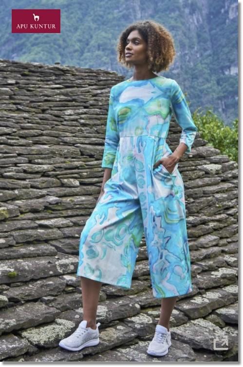 Jumpsuit Overall FALU aus Bio Baumwolle für Damen
