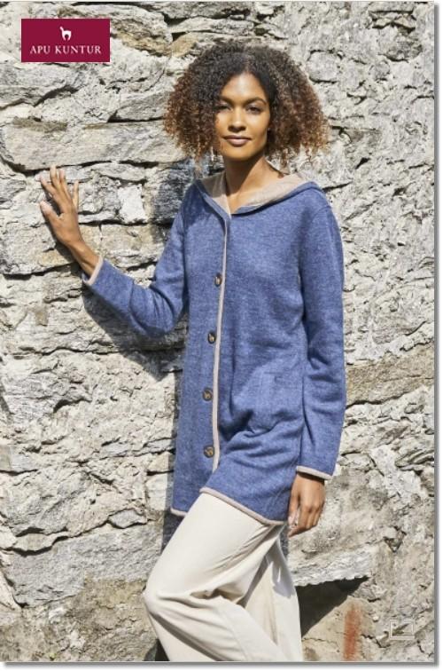 Kurzmantel ALYSSA aus Alpaka und Wolle für Damen